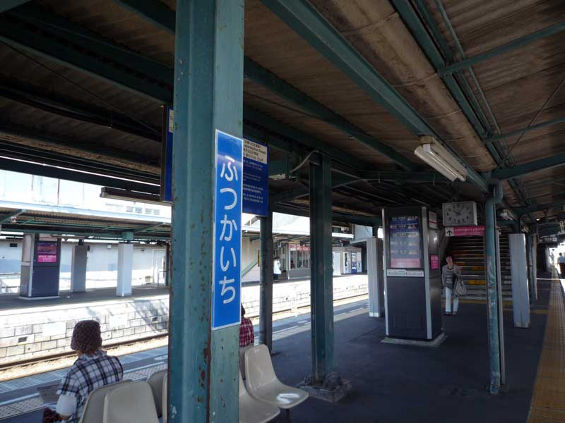 旅人号 二日市駅