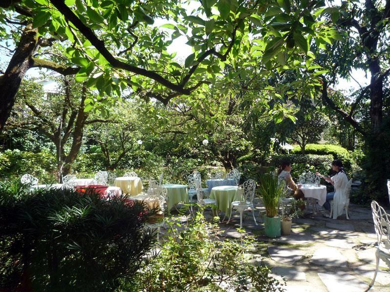 太宰府 松山の西洋風庭園