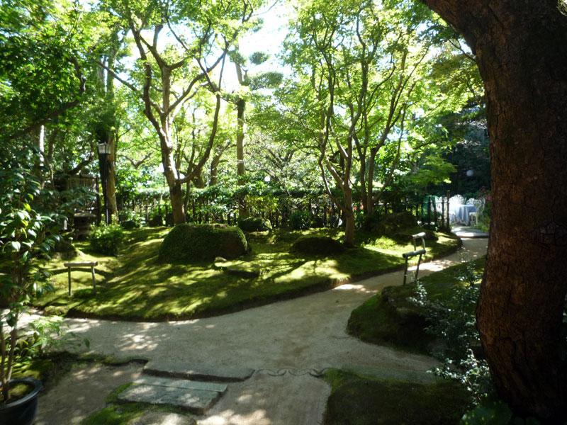 太宰府天満宮 松屋の日本庭園