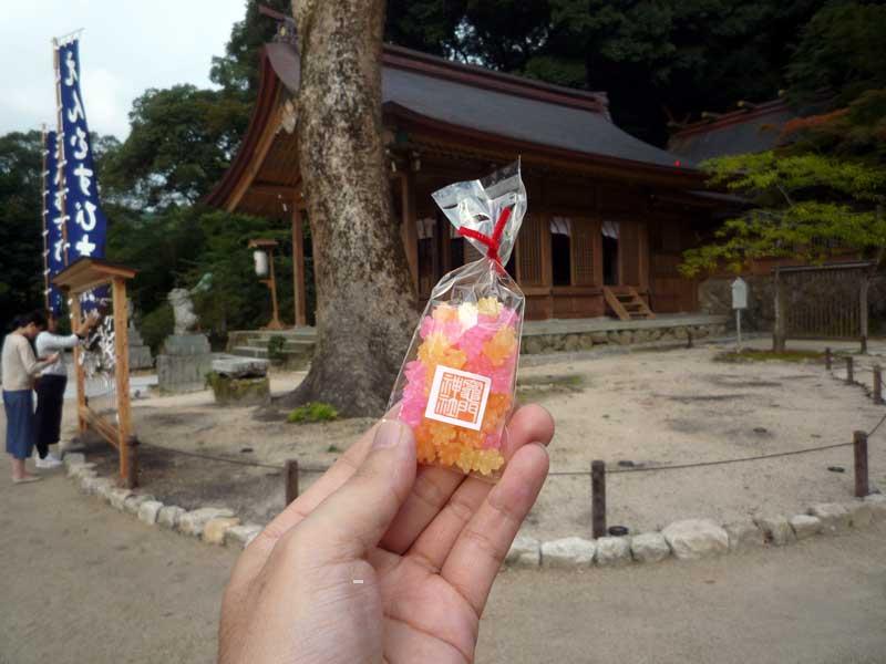 旅人号と竈門神社のコラボ 粗品
