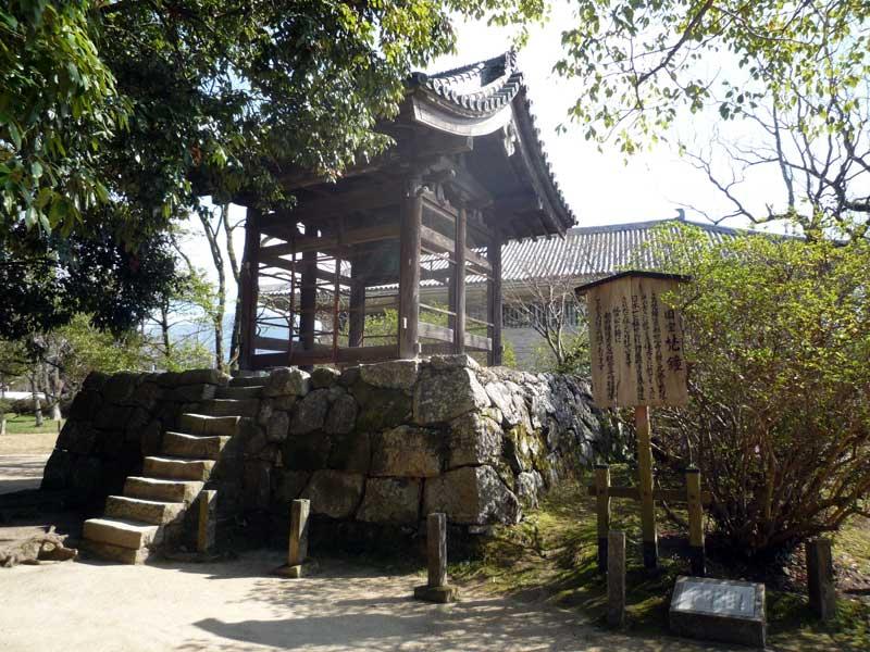 太宰府の観世音寺 梵鐘