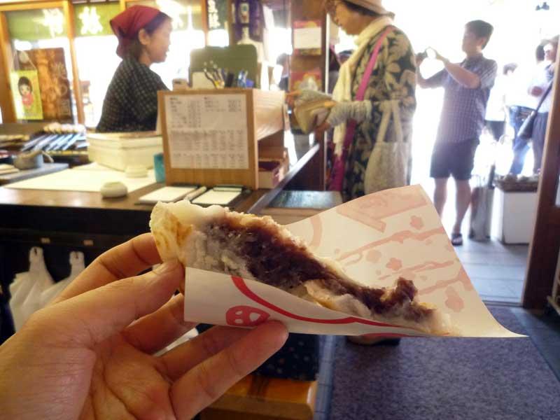 太宰府 甘木屋の梅ケ枝餅